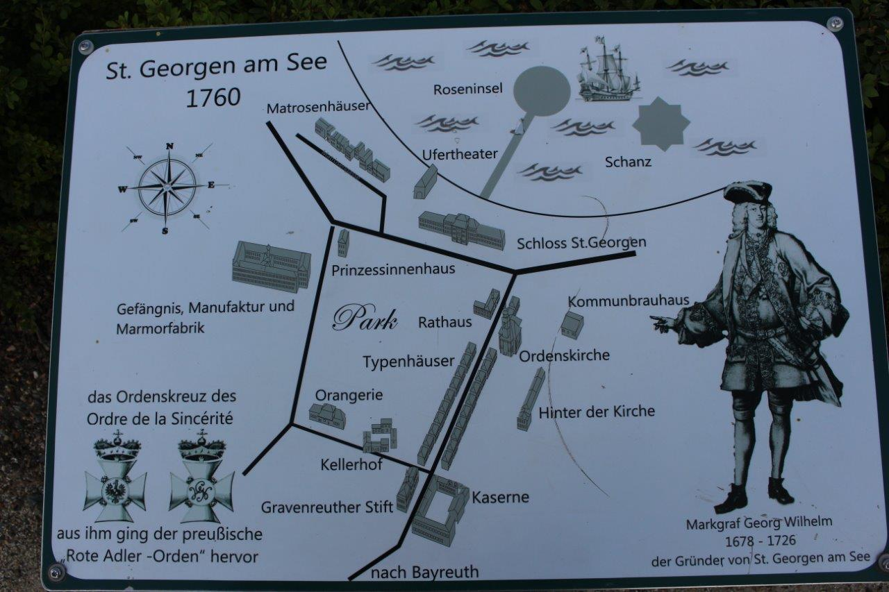 Schild: St. Georgen am See